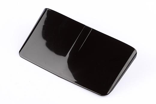 Visor für Rücklicht Vespa 50 schwarz (SIEM)