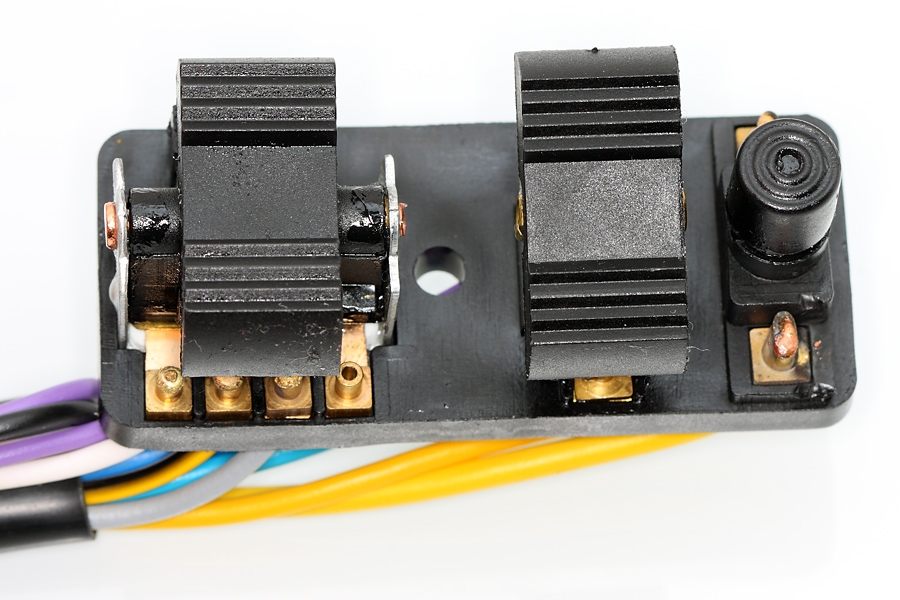 Light Switch for Vespa PX/PK w/o battery, with AC Horn (Grabor) on