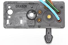 Blinkerschalter für Vespa PX, P200E mit Batterie (Grabor)