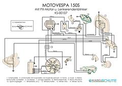 Kabelbaum Motovespa 150 S Conversion