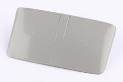 Visor für Rücklicht Vespa 50 grau (SIEM)