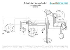 Kabelbaum Vespa Sprint