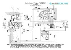 Kabelbaum Vespa PX alt Conversion (SET)