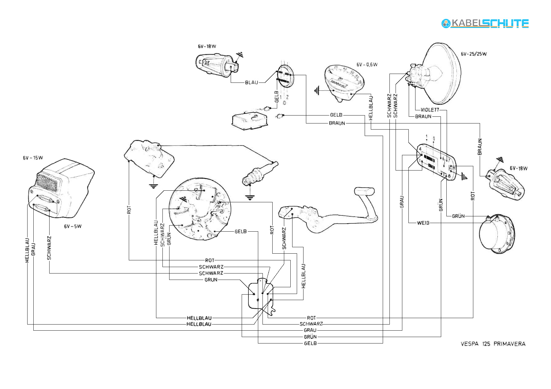 Vespa Sprint Wiring Diagram Library Pts Diagrams