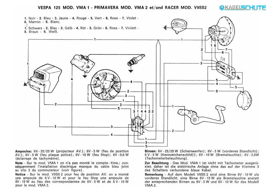 Vespa Allstate Wiring Diagram : Vespa et wiring diagram library dnbnor