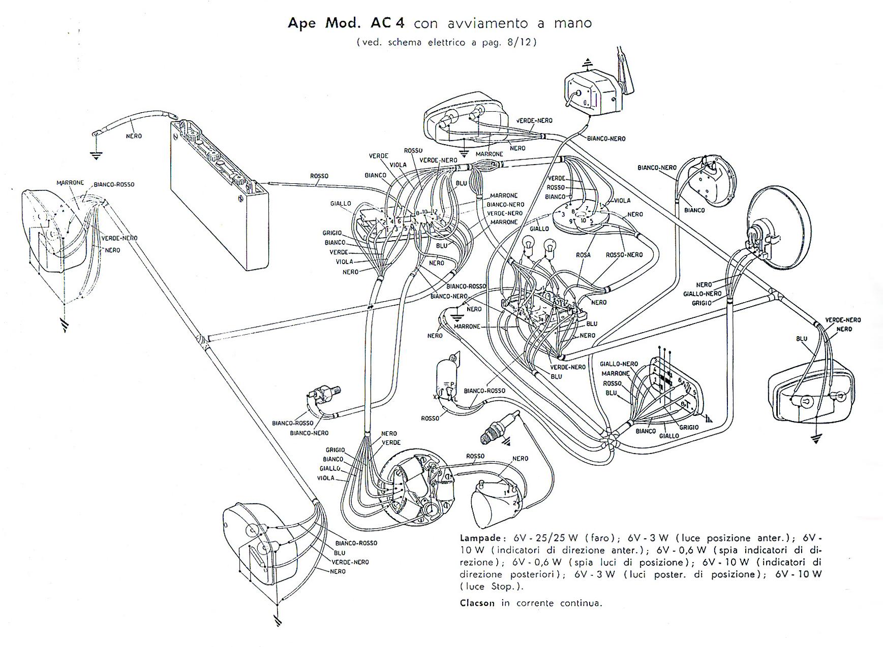 Schema Elettrico Auto : Wiring diagrams wiring diagrams