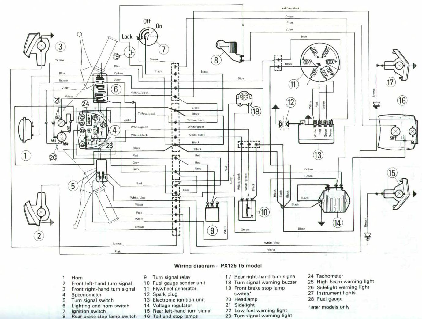 Wiring Diagrams Electronic Horn Schematic Diagram