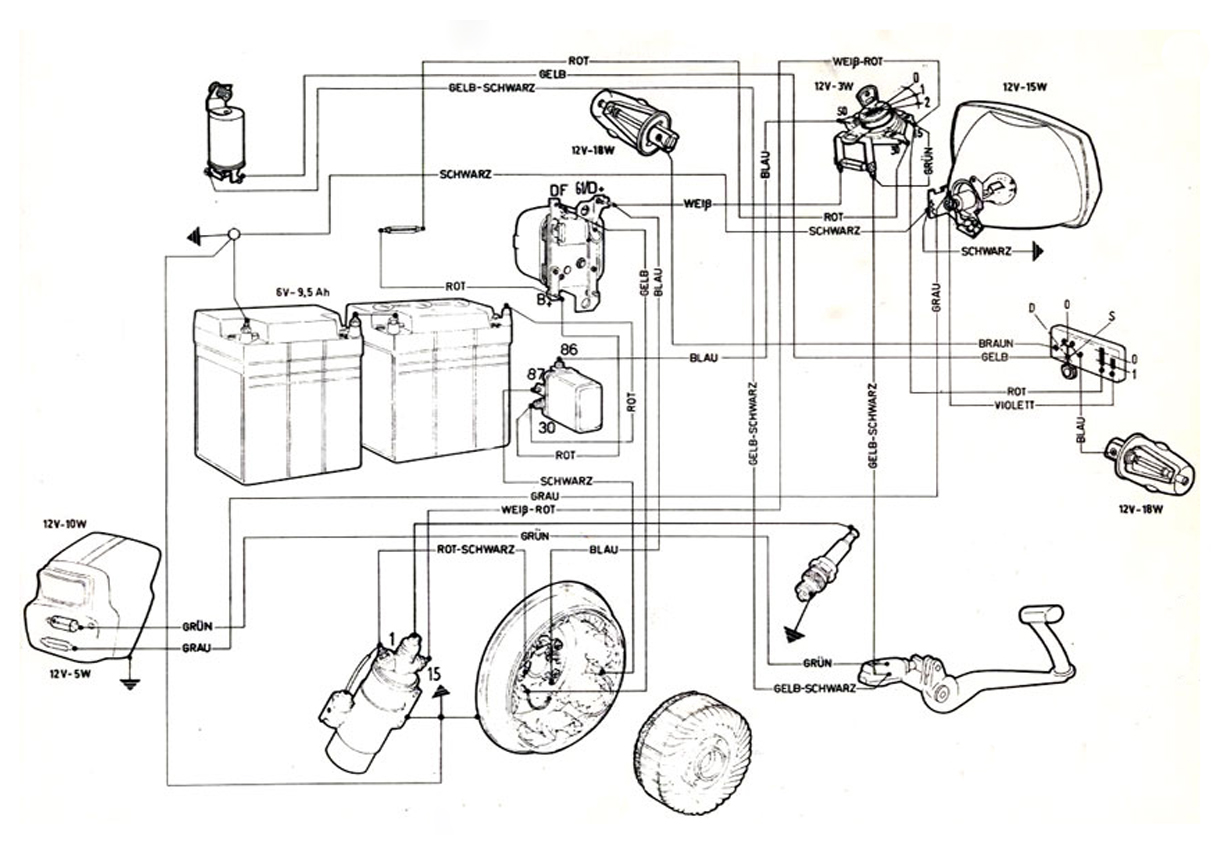 vespa sprint wiring diagram