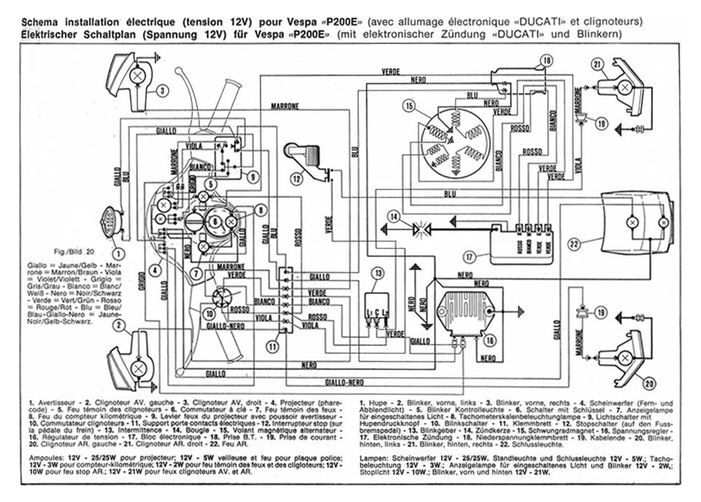 Wiring Diagrams Diagram Together With 12v Relay On Vespa